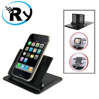 harga Car Dashboard Rubber Stand Holder For Mobile Phone  Mp4  Gps - Black Tokopedia.com
