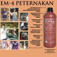 harga EM4 / Effective Microorganism / pupuk pakan utk Ternak (sapi/ayam) Tokopedia.com