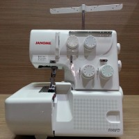 Mesin Obras JANOME 8002D Portable Multifungsi