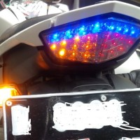 harga Stoplamp Led New Vixion Nvl Lampu Belakang / Stop Lamp + Sein Sen Sign Tokopedia.com