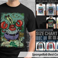 Jual Kaos Tuan Krab Spongebob Murah