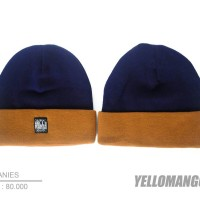 harga Beanies Original Navy Brown Tokopedia.com