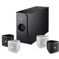 TOA ZS-FB 601 B/ W Speaker System four in one w/ subwoofer