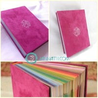 harga Al Quran Rainbow Falistya Magenta (non-terjemah) Tokopedia.com