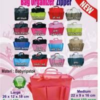 Bag In Bag Organizer Zipper Medium
