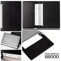 harga Jual Leather Flip Case Cover Sarung Lenovo Yoga Tab / Tablet 10 B8000 Tokopedia.com