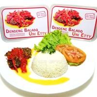 Jual Dendeng Balado Batokok (Cabe Merah) - ASLI PADANG - 500 Grams Murah
