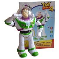 "Mainan Figure Toy Story Robot Buzz Lightyear 10"" Batt Operated"