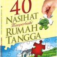 harga 40 Nasihat Memperbaiki Rumah Tangga Tokopedia.com
