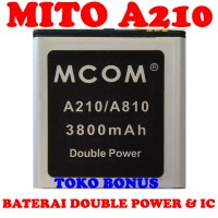 Baterai Mito A210 Double Power M Com