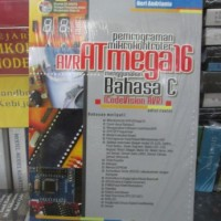 harga Pemrograman Mikrokontroler AVRATmega16 Menggunakan Bahasa C Tokopedia.com