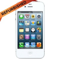 REFURBISHED APPLE IPHONE 4S 16GB WHITE GRADE A+ GRS DISTRIBUTOR 1 THN