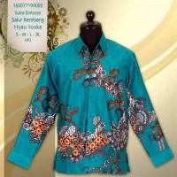 Batik Sutra/baju sutra/kemeja batik/hem batik/batik modern/batik jogja