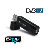 TV Tuner Digital DVB-T2 USB Stick untuk PC / Laptop