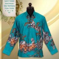 hem batik/kemeja batik/batik sutra/baju sutra/batik modern/jogja
