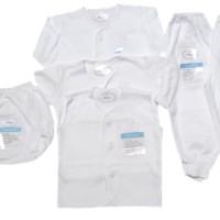 Miyo Putih Polos Set Newborn 0-3m