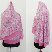 Khimar motif 01 pink