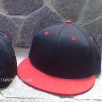 harga Topi Snapback Hiphop Polos Harga Grosir Hitam Merah Dan Merah Hitam  Tokopedia.com 573a01974e5a