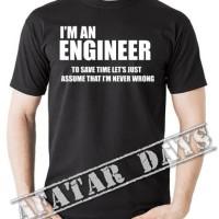 TSHIRT/T SHIRT IM AN ENGINEER