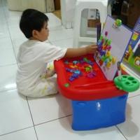 Meja belajar lipat multifungsi | Meja Belajar | Meja Untuk Anak