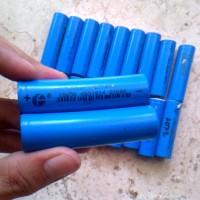 Jual Battery baterai batere batre 18650 diy powerbank eser senter vapor RC Murah