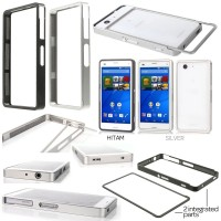Sony Xperia Z3 Compact - Slide On Metal Bumper Case