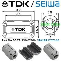 Penghemat BBM TDK ZCAT1730 0730A -- Ferrite Clamps -- Magnet TDK