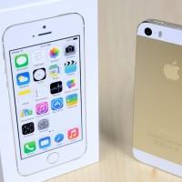 APPLE IPHONE 5 / 5G 32GB WHITE GOLD NEW ORIGINAL GARANSI RESMI 1 TAHUN