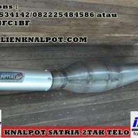 harga Knalpot Satria 2tak model Telo 3v3 Tokopedia.com