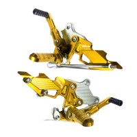 Footstep Depan / Underbone PSM Yamaha R25 Gold