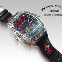 Franck Muller Conquistador Super A (Silver Merah)