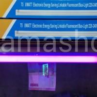 harga Lampu UV money detector T5 8w set Glorious, pendeteksi uang Tokopedia.com