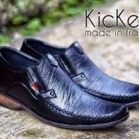 harga Sepatu Pantofel Kickers Black Original Kulit 100% Tokopedia.com