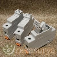 Fuse Base DC 1000V 30 A untuk Panel Surya & Sistem PLTS [SHPV]