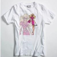 harga Kaos Parody 06 Kaos Fashion Kaos Barbie Moschino Parody Tee Tokopedia.com