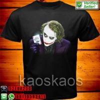 harga Kaos The Dark Knight Joker Card Purple Tokopedia.com