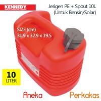 harga Jerigen Pe 10l Kennedy Untuk Bensin Solar (plastic Jerry Can) Tokopedia.com