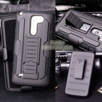 Lg G3 Stylus D690 - Future Armor Hardcase With Belt Clip Holster Stand