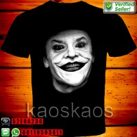 harga Kaos The Dark Knight Joker Magnificent White Face Tokopedia.com