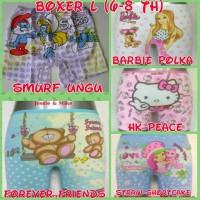 Celana Dalam Boxer Anak Perempuan Ukuran L (6-8 thn)