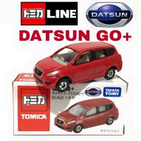 TOMICA DATSUN GO RED