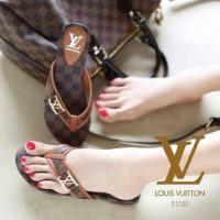 harga Sandal Sepatu Flat Wanita Cantik Lv Lucu Tokopedia.com