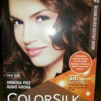 REVLON COLORSILK-46/MEDIUM GOLDEN CHESTNUT BROWN