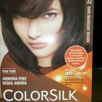 REVLON COLORSILK-32/DARK MAHOGANY BROWN