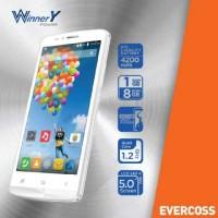 Evercoss A75u Winner Y Power - 5 Inch Ram 1gb Rom 8gb Battery 4200 Mah