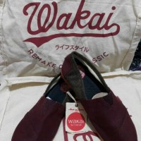 harga Sepatu Wakai Shoes Original Mokuzai Tokopedia.com