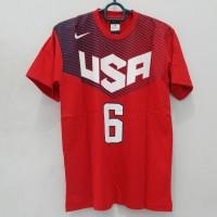 T-Shirt Basket USA basketball