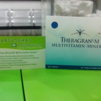 Theragran M / Multivitamin & Mineral Strip Isi 4 Tablet