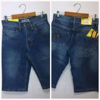 celana jeans pendek model DISTRO