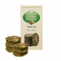 "Almond Crispy Cheese ""Wisata Rasa"" Rasa Green Tea"